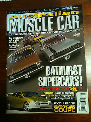 Australian Muscle Car Magazine 1st publication of issue 1