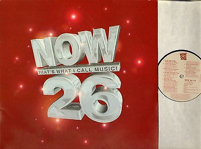 NOW THAT'S WHAT I CALL MUSIC volume 26 various DOUBLE LP EX/EX- NOW26 uk 1993