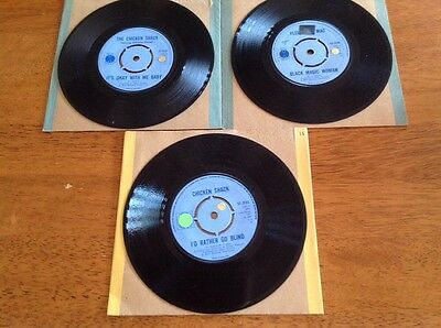 """Blue Horizon 7""""45'S X Three - It's Okay With Me Baby-Chicken Shack + Two."""