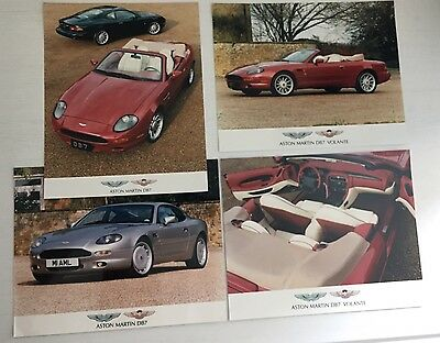 Aston Martin DB7 & DB7 Volante  Press Photos & Literature