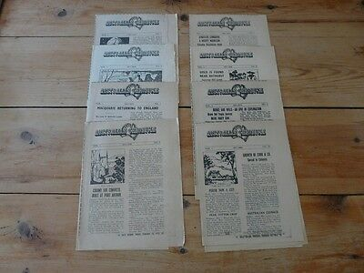 Vintage Newspaper Supplements from the Sydney Daily Mirror, 1975