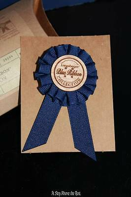 Longaberger 2004 Blue Ribbon Tie on #28594 NEW