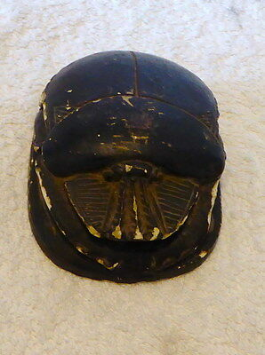 Ancient Egyptian Scarab from the reign of Thutmose 111 (1479 - 1425 BC )