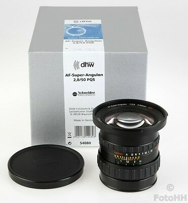 Rollei Af-Super-Angulon 2.8/50Mm Pqs Brand New In Box **With Full Warranty** !!!