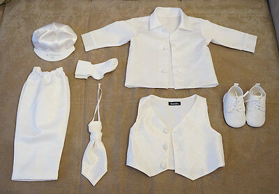 Christening or Wedding Outfit Bundle for Baby Boy 9-12 Months