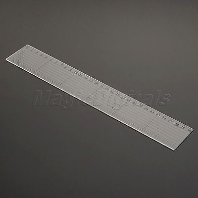 Quilting Quilters Craft Patchwork Rectangle Ruler Sewing Craft DIY Tools 30*5cm