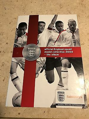 Sainsbury's 2004 England Squad  24 Coin set, BOGOF therefore 2 sets!