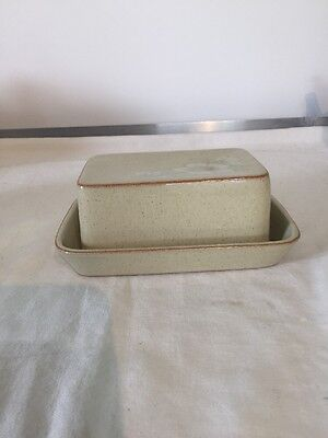 Denby Daybreak Butter Dish and Lid