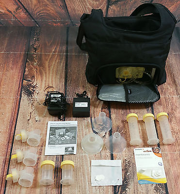 Medela Pump in Style Advanced Double Breast Pump with On the Go Tote Accessories