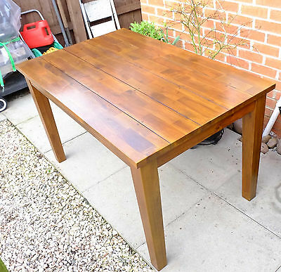 Oak Style (Softwood) Dining Table & Chairs
