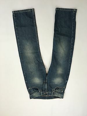 Boys Levi 505 'Straight Leg' Jeans - W25 L25 - Navy Wash - Great Condition