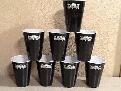 Lot of 8 NEW Captain Morgan Hard Plastic Cups Rum