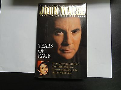 Tears of Rage by John Walsh (Hardbound Book with Dust Jacket)