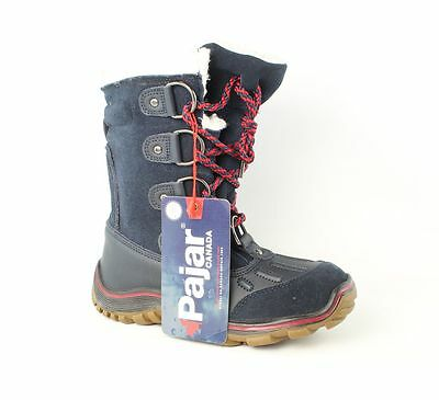 Pajar Canada Snow Navy Blue Boots Womens size 6 M New $110