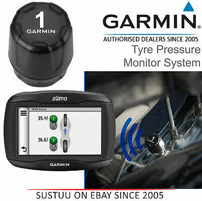Garmin Tyre Pressure Sensor ANT+ Monitor for Zumo 345LM 390LM 395LM 590LM 595LM