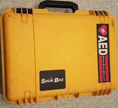 Shok Box Watertight Carrying Case For The Cardiac Science AED
