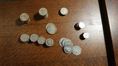 British Pound Coin Lot £37.50