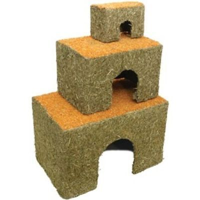 Edible Carrot Topped Cottage House Den Rabbits Hamsters Guinea Pigs Gerbils