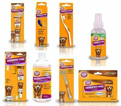 *Arm & Hammer Advanced Dog Oral Tooth Care Brushes Spray Toothpaste Water Mints