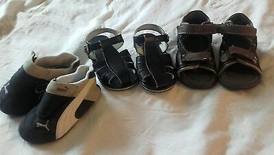 lot chaussures t 19 garcon