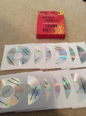 michael connelly unabridged audio book audiobook cd free shipping trunk music