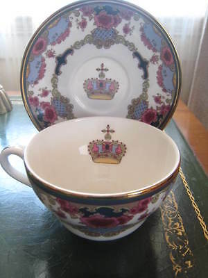 New in Box ROYAL DOULTON BONE CHINA FAIRMONT HOTEL VICTORIA TEA CUP AND SAUCER