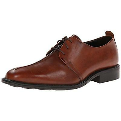 Cole Haan 6900 Mens Cain Tan Leather Derby Shoes Oxford 9 Medium (D) BHFO
