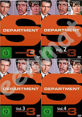 Department S - Komplette Staffel - 4 x DVD NEU OVP
