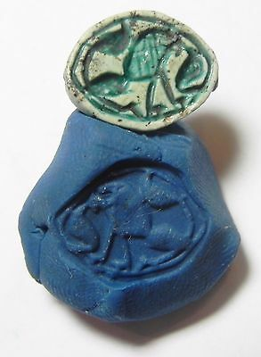 Zurqieh - Af2293- Ancient Egypt. New Kingdom. Stone Seal. 1400 B.c