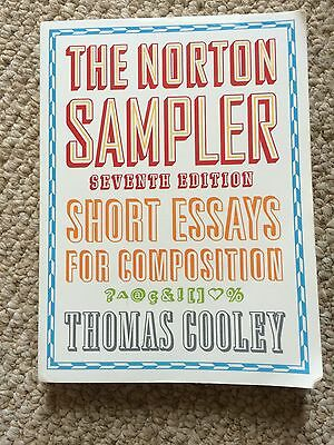 The Norton Sampler 7th Edition: Short Essays for Composition (2010, Paperback)