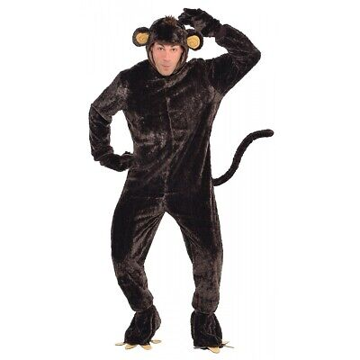 Monkey Costume Adult Chimp Halloween Fancy Dress