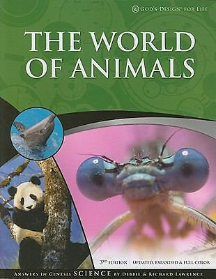 The World of Animals by Richard Lawrence and Debbie Lawrence (2009, Paperback)