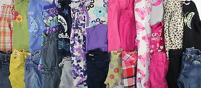 Huge Used Girl's 4T Spring Summer Outfit Clothes Lot Gymboree Gap Old Navy