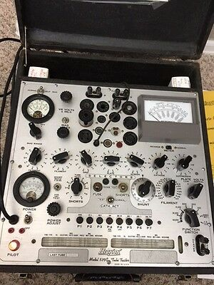 Hickok Model 539C Tube Tester  w/ manual and parts