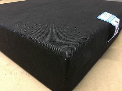 WHEELCHAIR CUSHION - PRESSURE RELIEF SEAT PAD - Memory Foam & Waterproof Cover