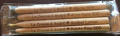 """""""Le Crayon a Andre""""   Amazing Coin & Ancient Artifact Cleaning 4 Pencil Set"""