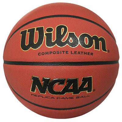 Wilson NCAA Replica Game Ball Composite Leather Basketball WTB0730 Size 29.5
