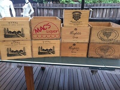 Wooden Wine Boxes - Grange & Others