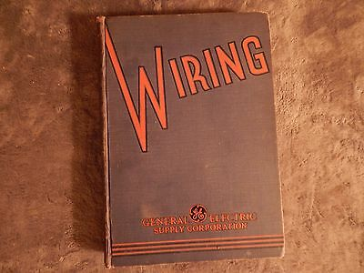 1936 General Electric Catalog of Electrical Products, Hardback