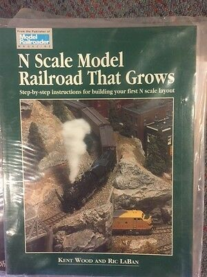 Model Railroader N Scale Model Railroad That Grows New Kalmbach Book