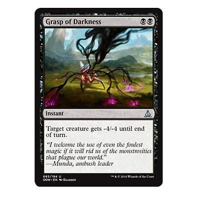 Grasp of Darkness - NM/M - Oath of the Gatewatch - MTG