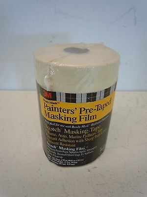"3M Scotch Ready Mask Painters Pre-Taped Masking Film 24"" x 30 yd # 06690"