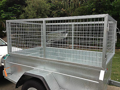 6x4 GALVANISED CAGE (800mm) ONLY FOR BOX TRAILER PICKUP  SUNSHINE COAST