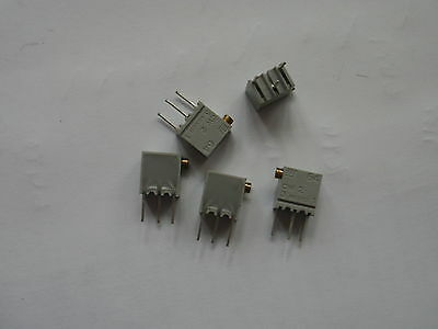 Resistor Cermet Trimmer 1Meg 1M0 Side adjust  64XR1MEGLF BI Tech 5 pieces  Z642