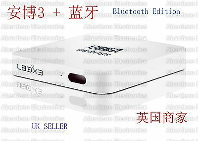 UNBLOCK TECH S900 ProBT 16GB BLUETOOTH IPTV UBOX3 TV BOX 安博盒子 全球適用 美加歐洲華僑適用