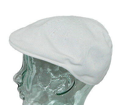 INTERNATIONAL HEADWEAR Cap Knitted Mens Bowls Synthetic Woven Cream Peak S-XL