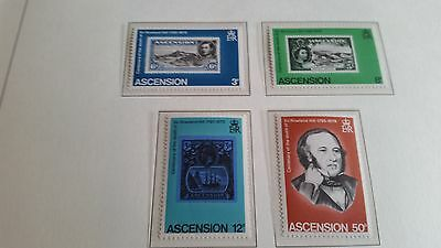 Ascension Island 1979 Sg 254-257 Death Cent Of Sir Rowland Hill  Mnh