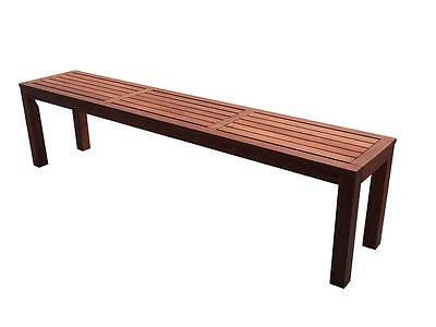 Outdoor 1.5m Backless Stool Bench
