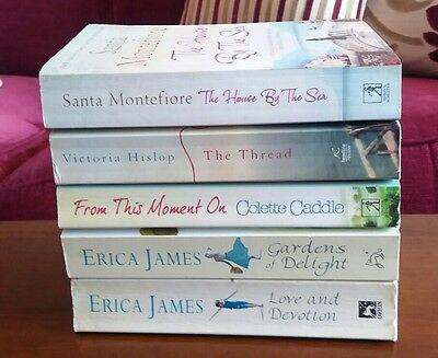 Bundle of 5 Women's Fiction Books - Romance/Drama.