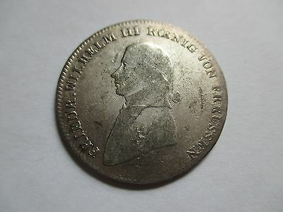 1800-A German Germany Prussia Prussian 1/3 Thaler Coin